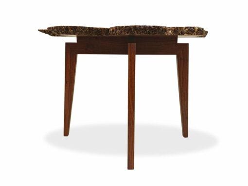 Organic Jarrah Burl Entry Table Side