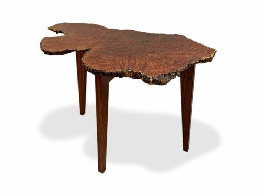 Organic Jarrah Burl Entry Table Top