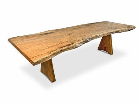 Slimline Nara Marri Single Slab Dining Table