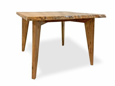 Square Marri Kitchen Dining Table Side