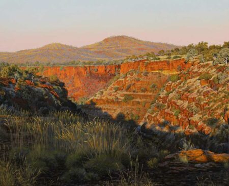 Christine Lawrence Dales Gorge Painting