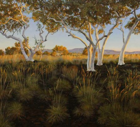 Christine Lawrence Snappy Gums Painting