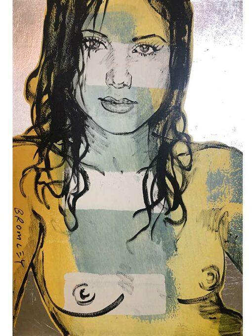 David Bromley Painting Alexia