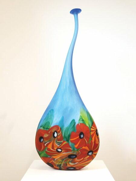 Gordon Glass Flower Bottle