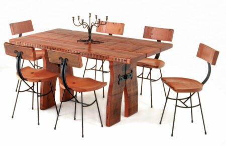 Blacksmith Suite Table And Chairs Only