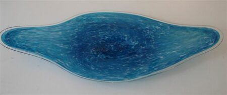 Blue Coolamon Platter