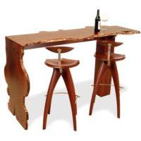 Jarrah Burl Wine Bar