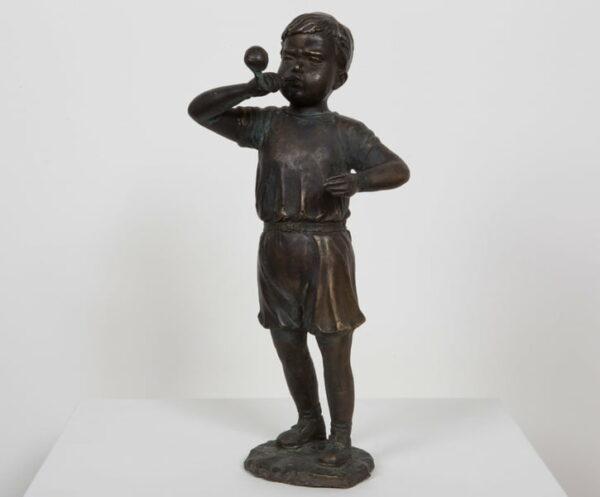Dbr204 Small Bubble Boy Bronze