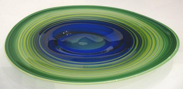 Eileen Gordon Centrifugal Platter Blue 595