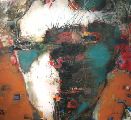 Geoffrey Wake Headland 130x120cm 5500