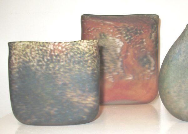 Gordon Studio Pebble Vases Sqaure