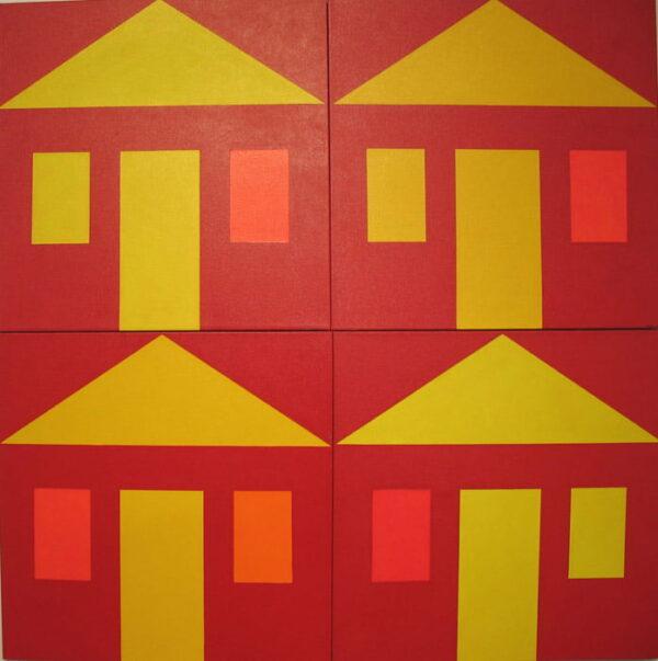 Harvery Wachtel Chinatown Broome Series 5 120X120Cm