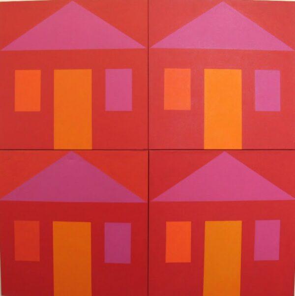 Harvey Wachtel Chinatown Broome Series 2 120X120Cm