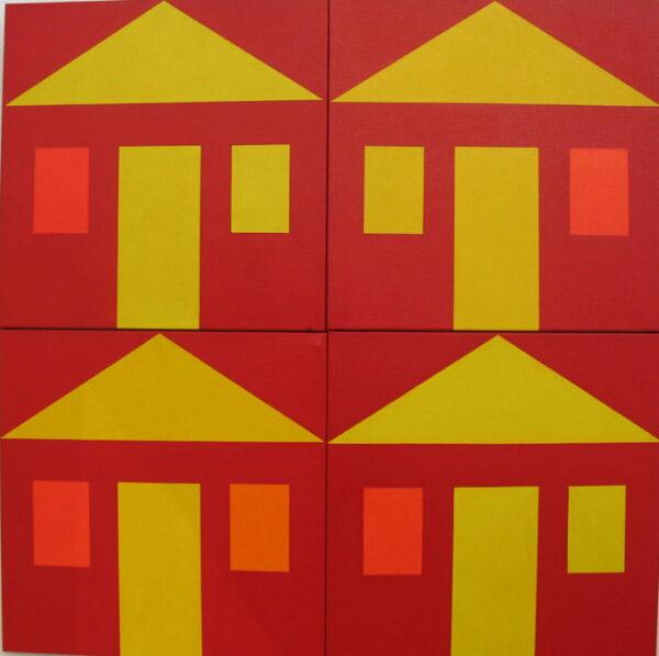Harvey Wachtel Chinatown Broome Series 92X92Cm
