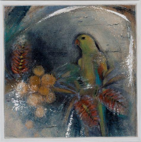 Helen Forbes Regent Parrot 30x30cm 450