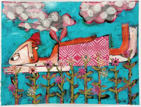Janine Daddo Dreams Of Flying Painting