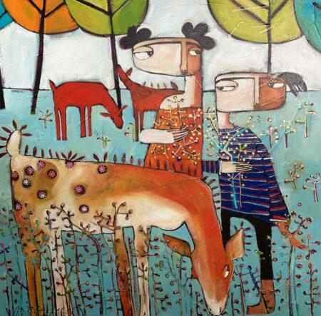 Janine Daddo Harvest Painting