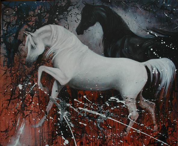 Judy Prosser Black And White 112 X 137 Cm 9900