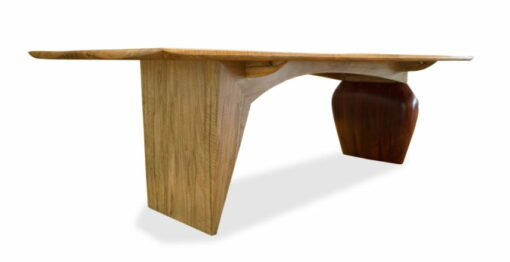 Kimberley Boab Dining Table End Side View