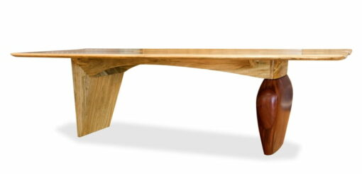 Kimberley Boab Dining Table Side View