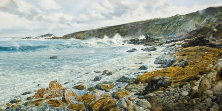 Larry Mitchell Wyadup Rocks 240cm X 120cm 420001