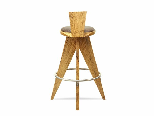 Montgomery Bar Stool Marri Timber Back