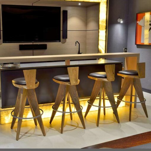 Montgomery Bar Stools In Home Cropped