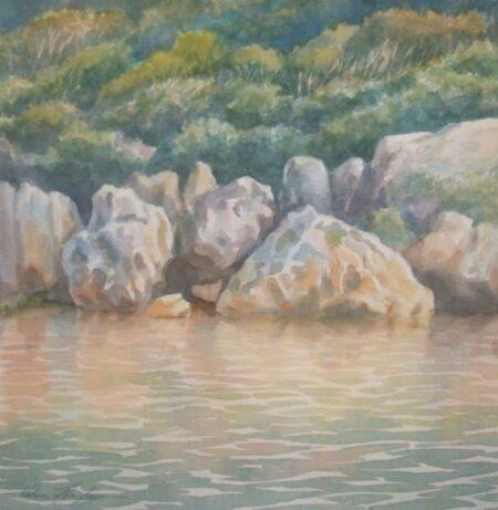 Owen Thompson Reflected Rocks