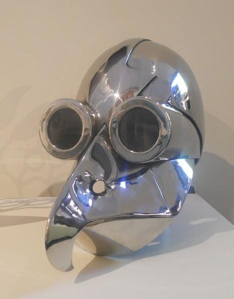 Radio Birdman Mask Size 30X30 Stainless Steel