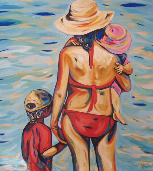 Shannon Hamilton Mother And 2 Children 137X152Cm 8500