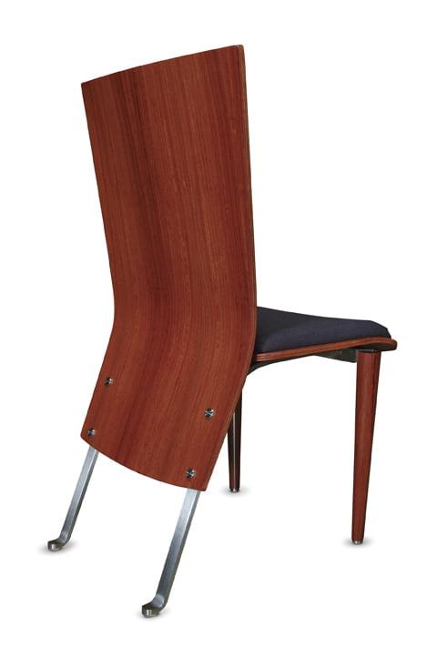 Silhouette Dining Chair Jarrah Back
