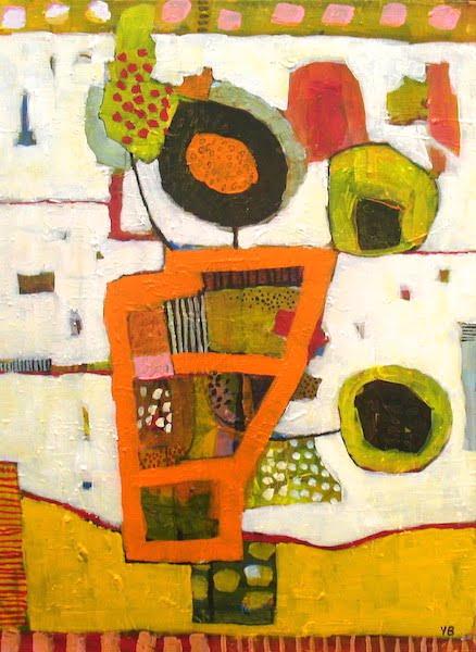 Y Barker Still Life Ii Acrylic On Canvas 62 X 45cm 1900