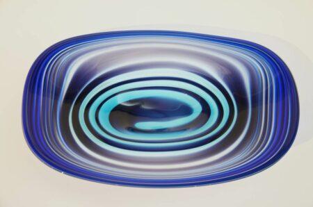Eileen Gordon Centrifugal Platter Blue Top