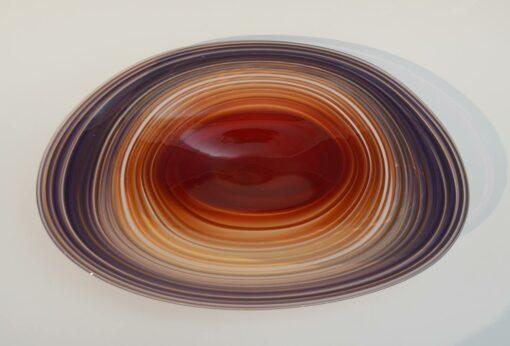 Eileen Gordon Centrifugal Platter Red Purple Top