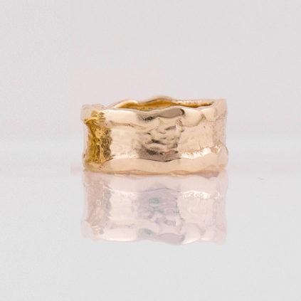 Gemma Baker – Molten Gold Ring