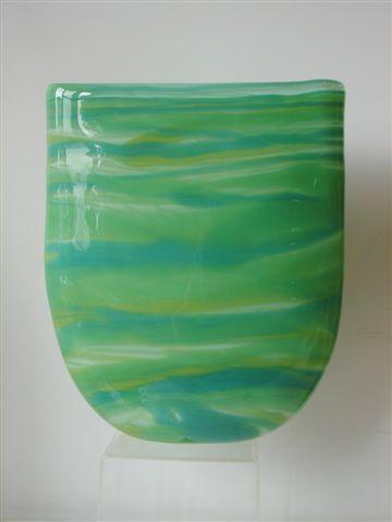 Green Blue Vase