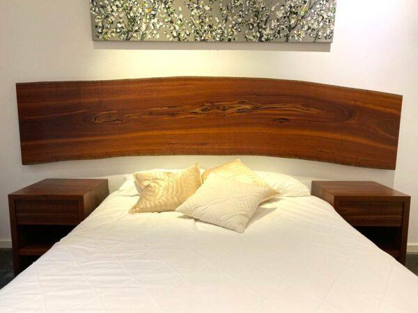 Jarrah Wall Hanger Bed Headboard
