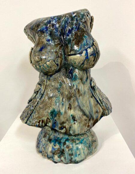 Lauren Rudd Exposed Bust Sculpture
