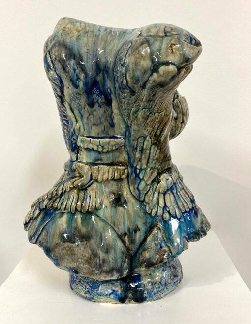 Lauren Rudd Exposed Bust Sculpture Back
