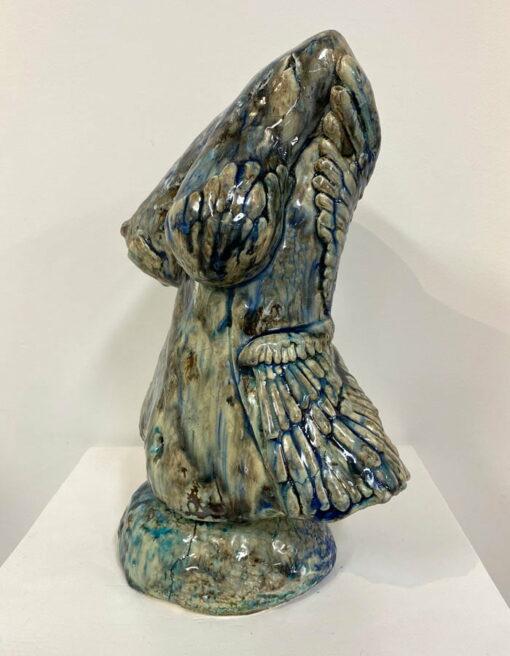 Lauren Rudd Exposed Bust Sculpture Side