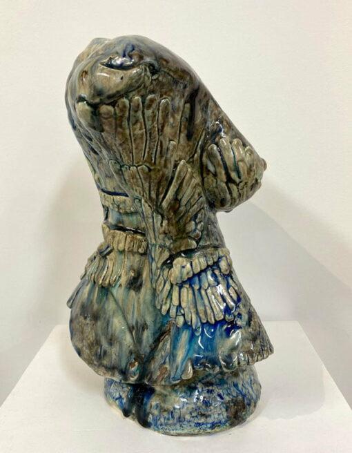 Lauren Rudd Exposed Bust Sculpture Side Back
