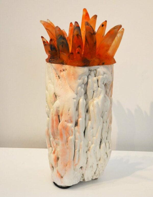 Sallie Portnoy Jester Anenome Sculpture Light