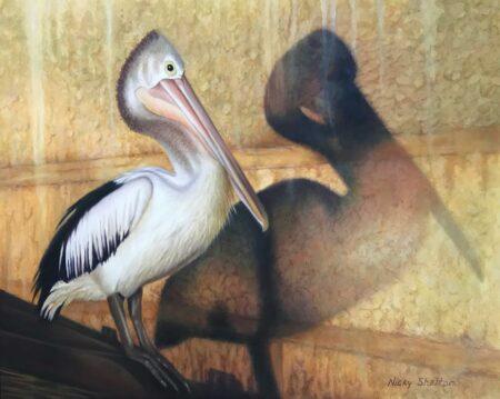 Nicky Shelton Percivals Shadow Painting
