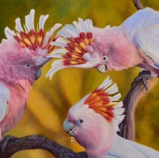 Nicky Shelton Triple Treat Painting