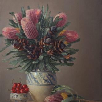 Philip Drummond – Banksia & Cherries
