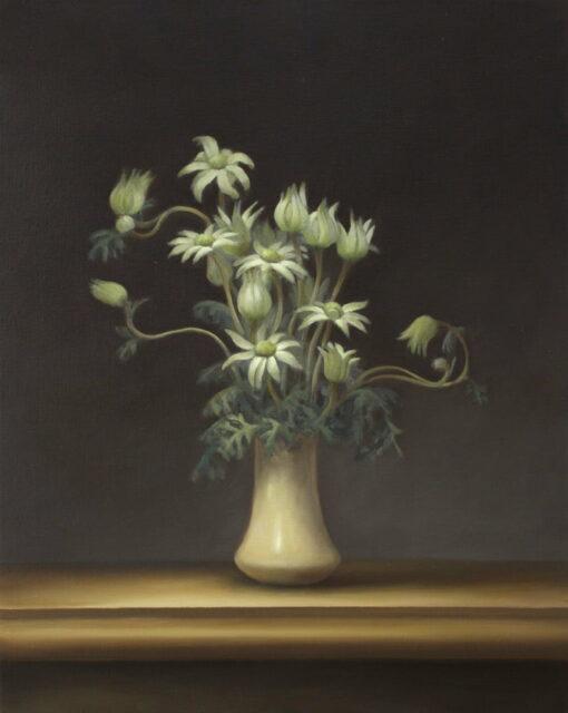 Philip Drummond Flannel Flowers Oil Painting