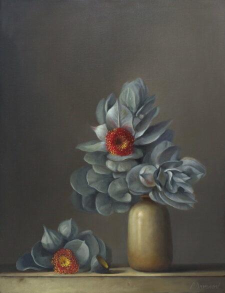 Philip Drumond Eucalyptus Macrocarpa Oil Painting