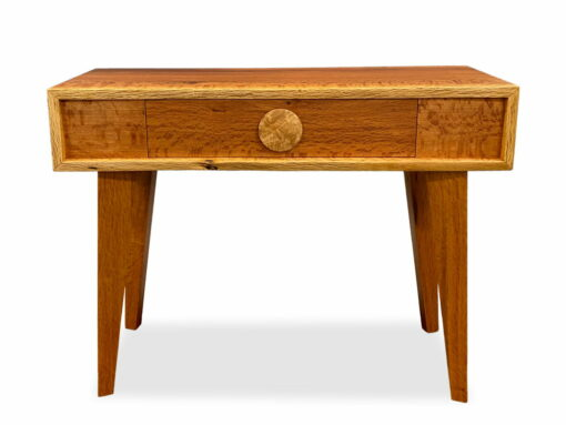 Retro Seoak Entry Table Front Jahroc Furniture