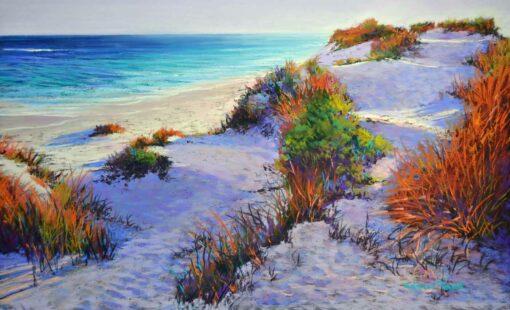 Shirley Fisher Dune Chorus Pastel Art
