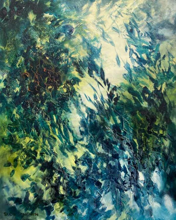 Susan Angwin Cast Shadows Painting